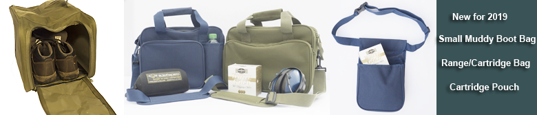Range/Cartridge Bag & Double Pocket Cartridge Pouch | NEW for 2019
