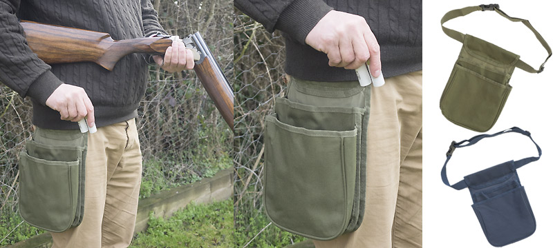 Double pocket cartridge pouch
